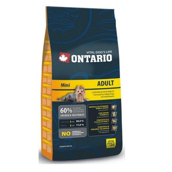 Ontario Adult Mini Breed 3 x 2,5 kg