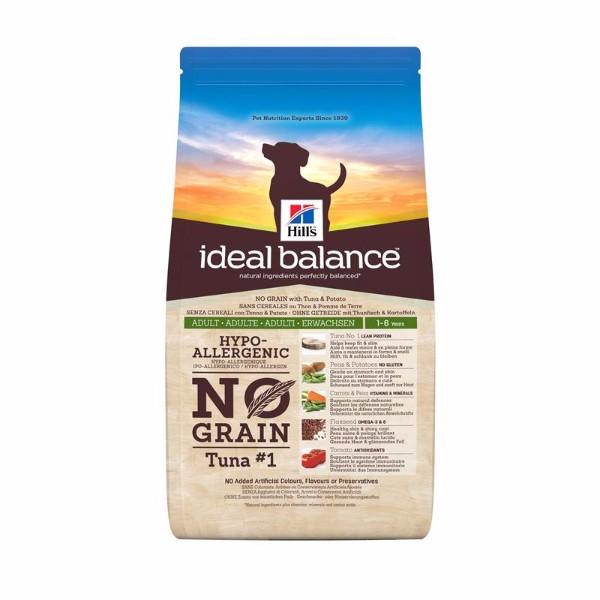 Hill's Ideal Balance No Grain Adult - tuna in krompir - 12 kg
