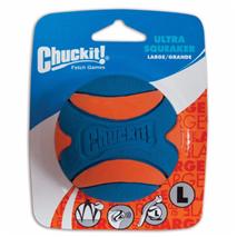 Chuckit piskajoča žoga Ultra, L