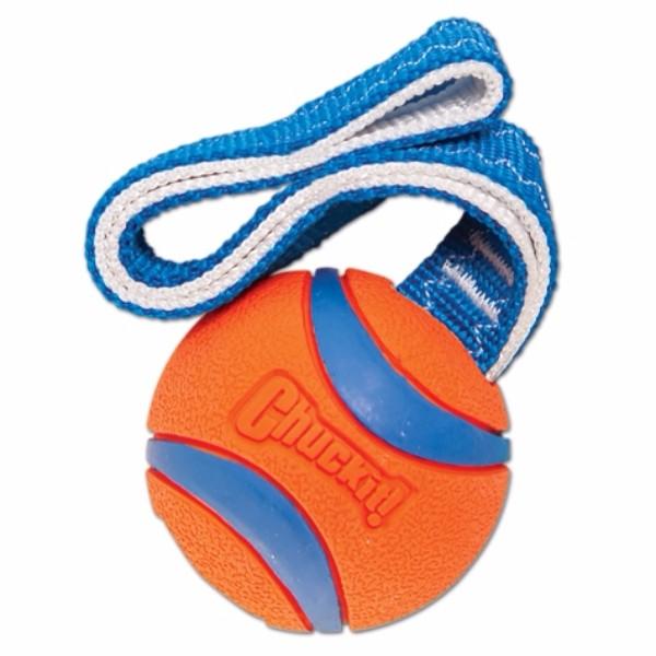 Chuckit žoga Ultra s trakom, L