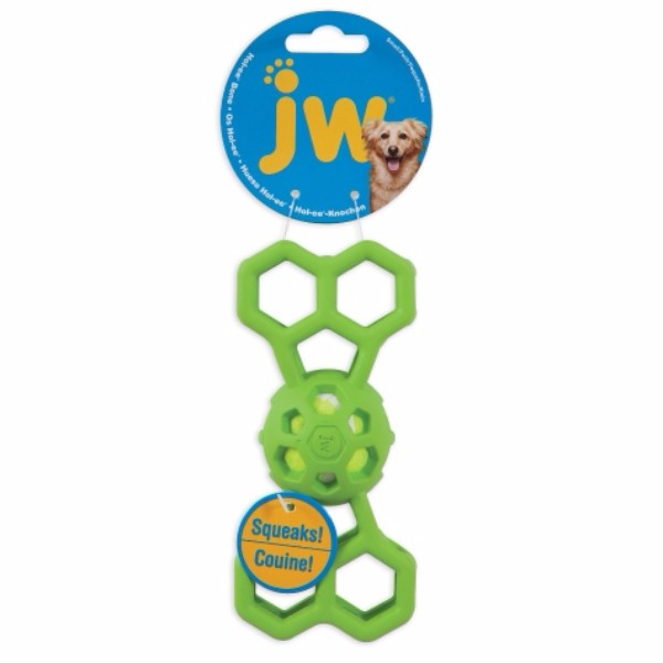 JW žoga in mreža Bone Squeaker, M