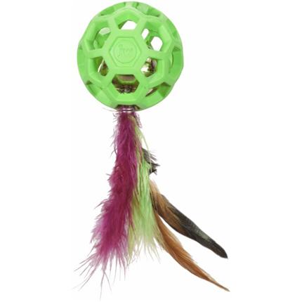 JW žoga s perjem in zvončkom