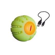 Nobby žoga silikon LED Flash - 6,5 cm