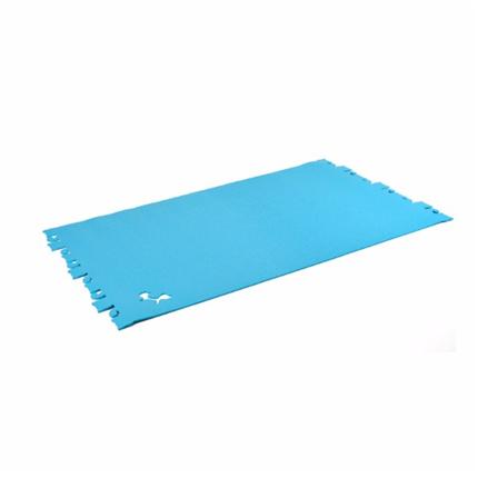 United Pets podloga Car Pet, modra - 53 x 90 cm