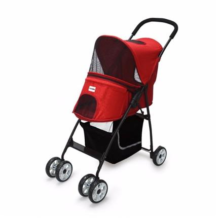 Camon voziček za pse Passeggino, rdeč