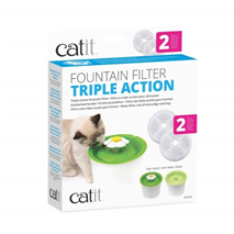 Catit Triple Action Filter za fontano, 2 kos