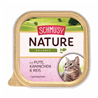 Schmusy Nature alutray - puran in kunec - 100 g 100 g
