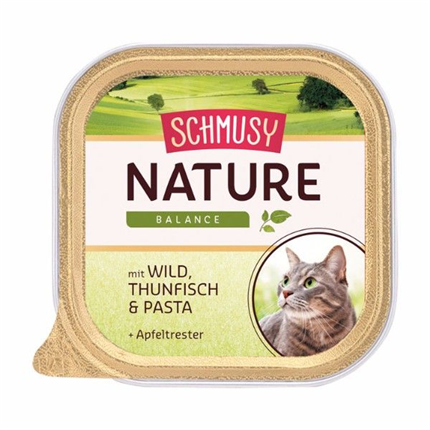 Schmusy Nature alutray - divjačina in tuna - 100 g