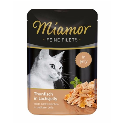 Miamor Feines Filets Jelly - tuna v lososovi omaki - 100 g