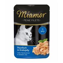 Miamor Feines Filets Jelly - tuna v omaki iz rakov - 100 g