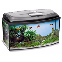 Aquael akvarij Classic Box LED oval (102 l) - 80 x 35 x 40 cm