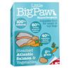 Little Big Paw alu posodica - losos in zelenjava 7 x 150 g