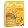 Little Big Paw alu posodica - puran in zelenjava 7 x 150 g