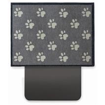 Zaščitna preproga za prtljažnik Big Paw, siva + bež - 80 x 100 cm
