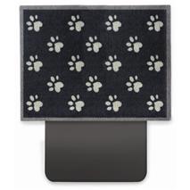 Zaščitna preproga za prtljažnik Big Paw, temno modra + bež - 80 x 100 cm