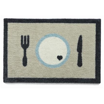 Preproga pogrinjek Dinner, bež - 40 x 60 cm