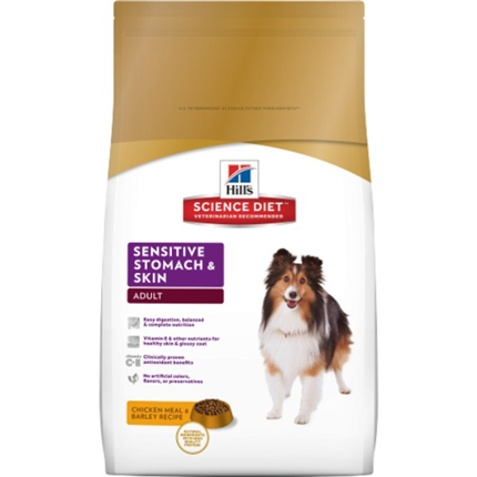 Hill's Adult Sensitive Stomach & Skin - 3 kg