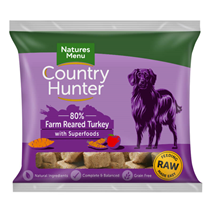 Natures Menu Country Hunter Nuggets - puran in jabolko - 1 kg