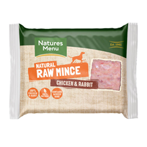 Natures Menu Frozen Minced mleto meso - piščanec in kunec - 400 g