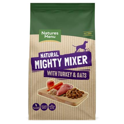 Natures Menu Mighty Mixer - puran in oves - 2 kg