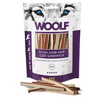Woolf priboljški - sendvič iz ovce in polenovke - 100 g