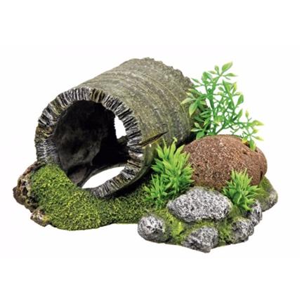 Nobby akvarijski dekor deblo tunel - 18,5 x 15,5 x 9 cm