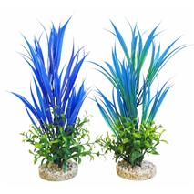 Sydeco dekor Aqua Blue Ocean Plant