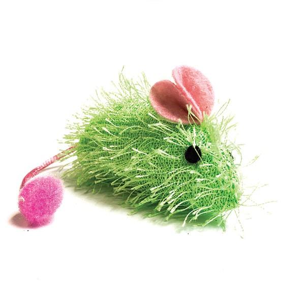 Magic Cat miš z nitkami - 7 cm