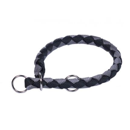 Nobby polzatezna ovratnica Corda - črno siva - različne velikosti