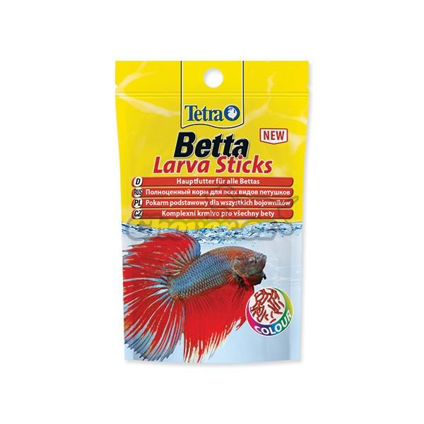 tetra betta larva sticks 5 g mrpet si