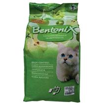 Bentonix posip za mačje stranišče, zeleno jabolko