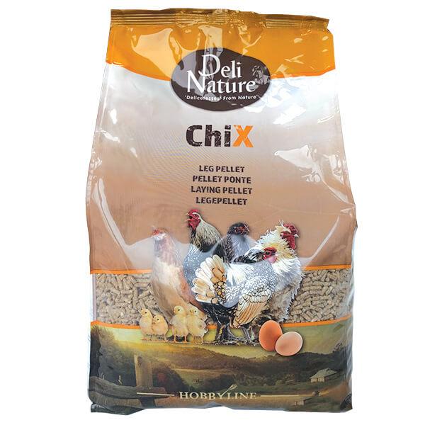 Deli Nature Chix peleti za kokoši - 4 kg