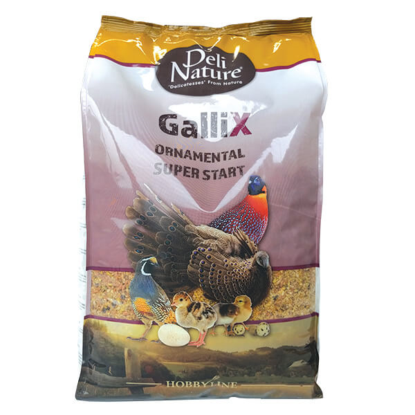 Deli Nature Gallix drobno mleta mešanica za piščance okrasne perutnine - 4 kg