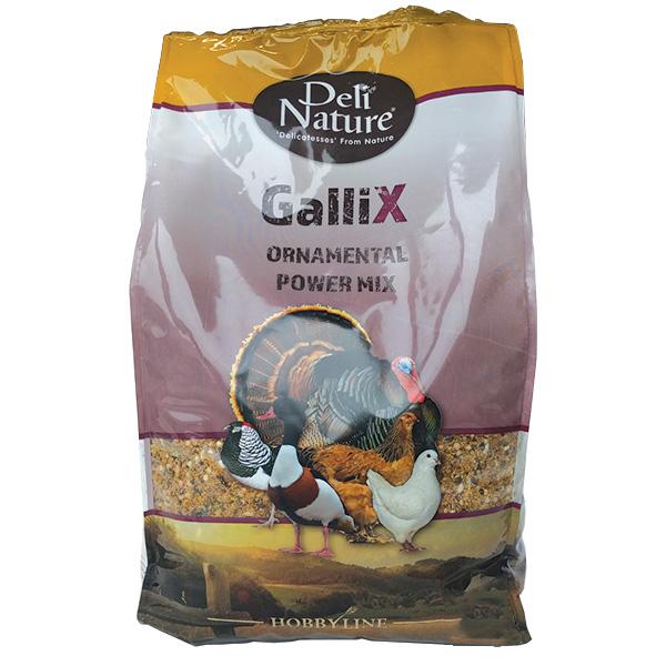 Deli Nature Gallix mešanica za okrasno perutnino - 4 kg
