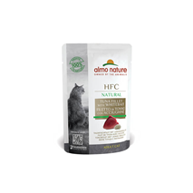 Almo Nature HFC Natural vrečka - file tune in inčun - 55 g