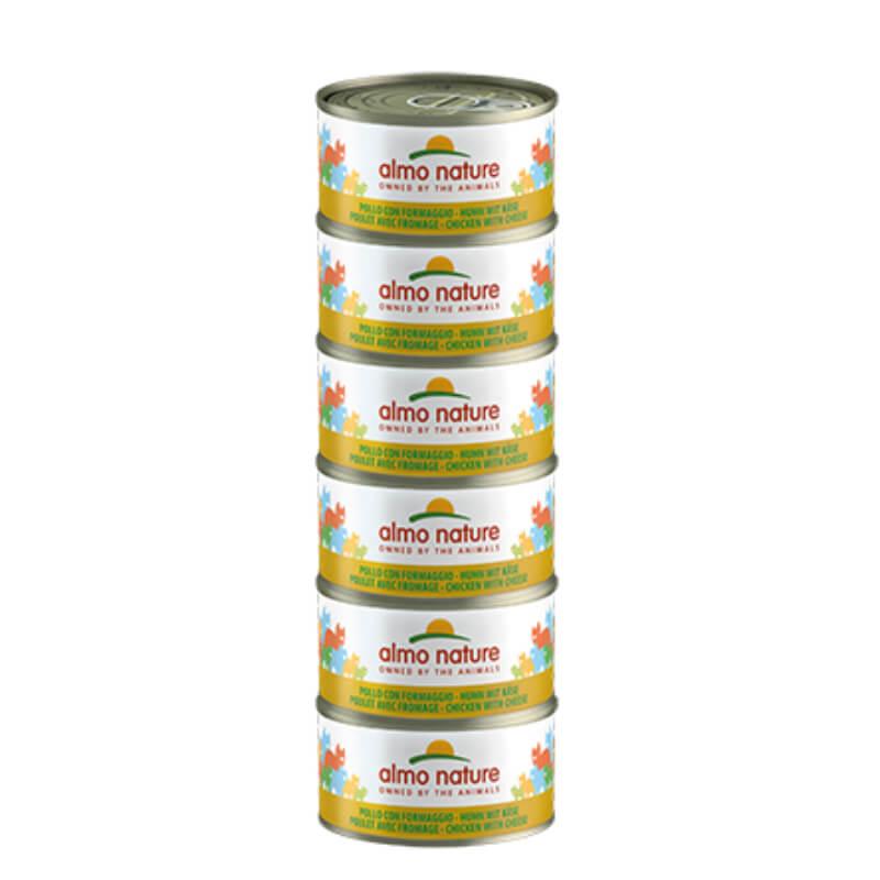 Almo Nature Legend – piščanec in sir – 70 g 6 x 70 g