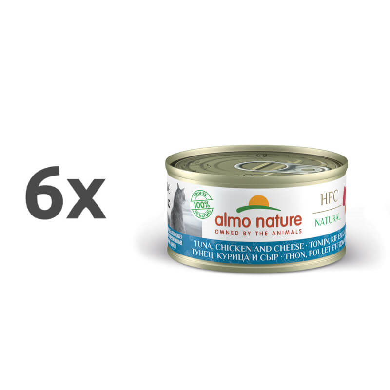 Almo Nature Legend – tuna, piščanec in sir – 70 g 6 x 70 g