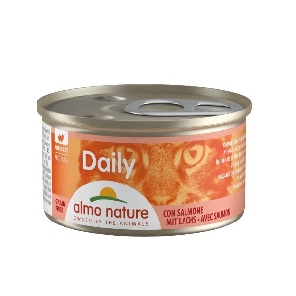 Almo Nature Daily Mousse konzerva - losos - 85 g