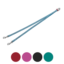 Flexi Vario razdelilnik za dva psa, S (različne barve)