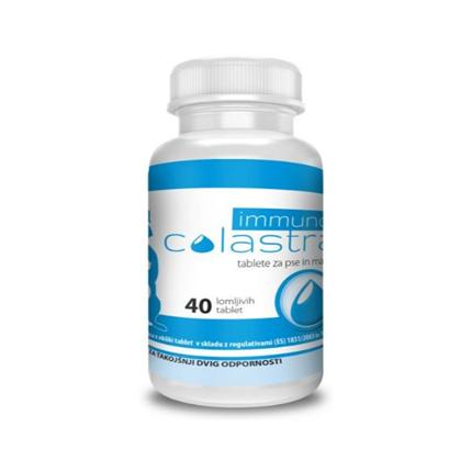 Immuno Colastra za pse in mačke - 40 tablet