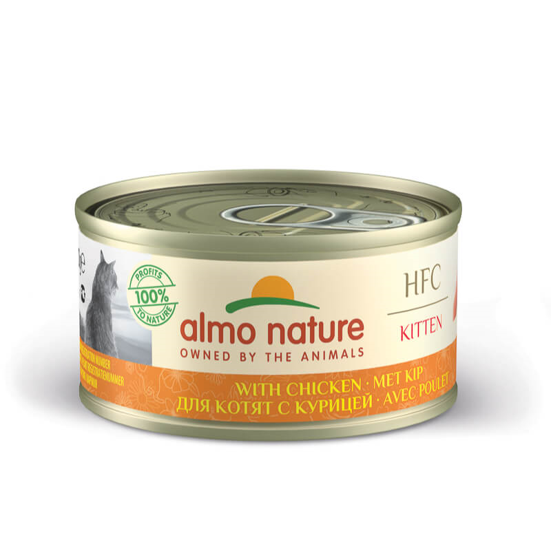Almo Nature HFC Legend Kitten – piščanec – 70 g