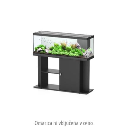 Aquatlantis akvarij Style LED 120, črn - 120 x 40 x 45 cm (216 l)