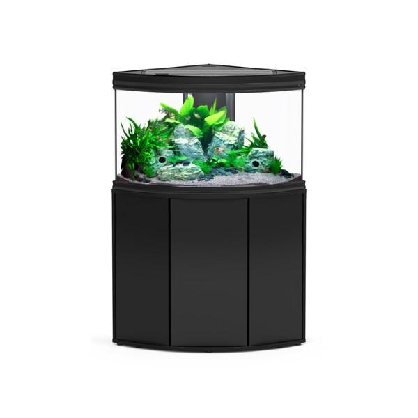 Aquatlantis omarica Fusion Corner 100, črna - 101 x 58 x 83 cm