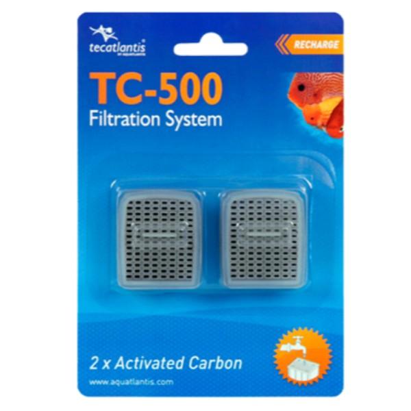 Aquatlantis rezervni vložek aktivno oglje za filter TC500 (2 kos)