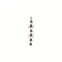 Beeztees igrača za ptice kovinski obročki in zvončki - 31 cm