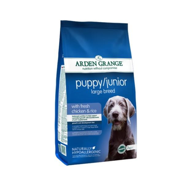 Arden Grange Puppy Junior Large – piščanec in riž