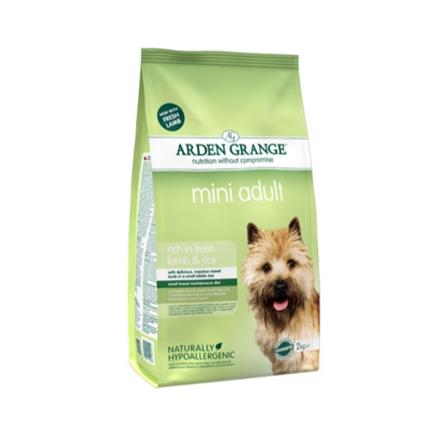 Arden Grange Adult Mini – jagnjetina in riž