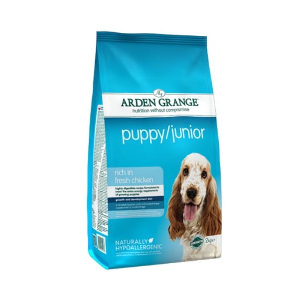 Arden Grange Puppy/Junior Mini – piščanec in riž