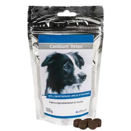CaniGum Relax žvečljive tablete za pse - 120 g