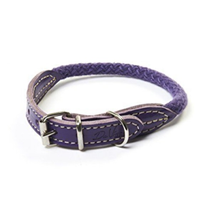 Carbone Bianca ovratnica iz vrvi (fi 7 mm), vijolična - različne dolžine